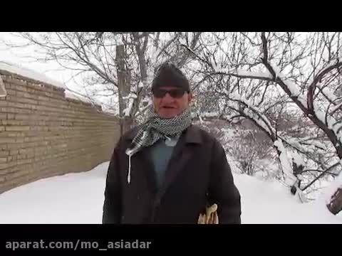 مصاحبه شماره 2 برف پاییزی در شهر دستجرد