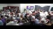 استقبال از خلیل مرزوق پس از آزادی از زندان