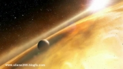 تصویر زیبا از سیاره تازه کشف شده