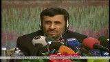 سوال خبرنگار بی بی سی فارسی از احمدی نژاد و پاسخ او