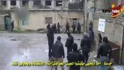 کشته شدن تروریست ارتش آزاد توسط ارتش سوریه