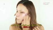 آموزش آرایش صورت و آرایش غلیظ لب (به زبان فارسی)