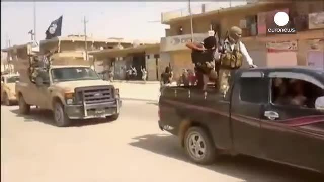 مرزهای «خلافت» داعش