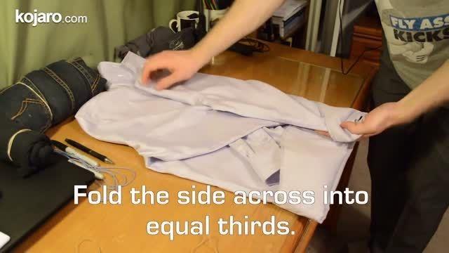 بهترین روش برای تا کردن انواع لباس - کجارو