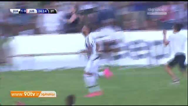 هجوم تماشاگران یوونتوس به زمین و نیمه تمام ماندن بازی