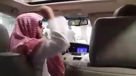 لعنت بر آل سعود... لعنت بر شاهزاده پست سعودی