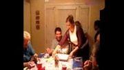 مردی که در جشن تولدش آتش گرفت!