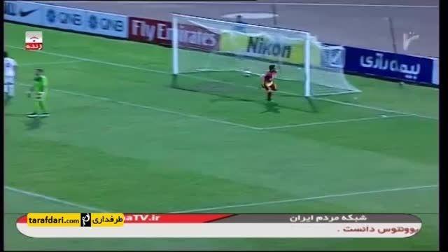 گل بازی فولاد خوزستان 1-0 لوکوموتیو تاشکند