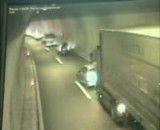 تصادف شدید در تونل