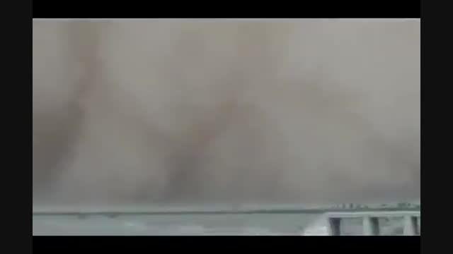 طوفان تهران ، ناب ترین صحنه ها - اتوبان قم تهران