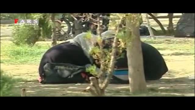 فیلم تکان دهنده از پارک معتادان در تهران