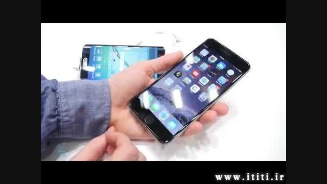 مقایسه گوشی های Galaxy S6 edge و Apple iPhone 6 Plus