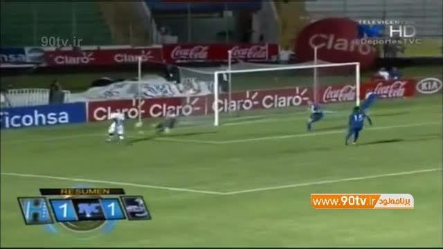 گل بنگستون بازیکن هندوراسی پرسپولیس به گواتمالا