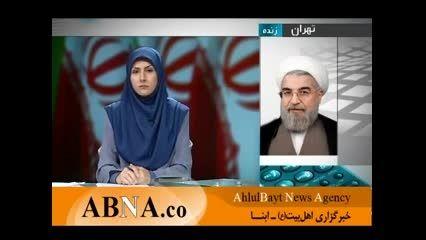 پیام شفاهی دکتر روحانی در شب پیروزی انتخابات 92