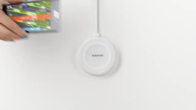 گوشی جدید سامسونگ بصورت وایرلس شارژ میشه!!!