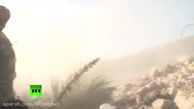 موشک های ضد تانک TOW در حمله به روزنامه نگاران RT در سو