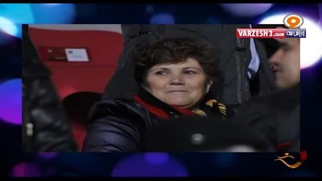 گرفتن مادر رونالدو در اسپانیا