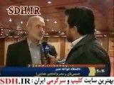 مشاجره خبرنگار صداوسیما