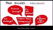 چگونه استارتاپ بسازیم 5 - 17- مسکن ها و فرضیات