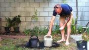 آموزش درست کردن دمبل کتل بل(Kettle Bell)(دمبل روسی)