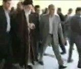 بازدید رهبر انقلاب از گلزار شهدای کرمانشاه