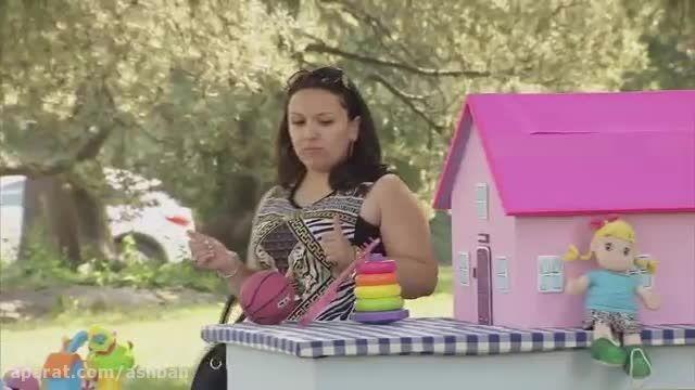 دوربین مخفی خنده دار خانه عروسکی!!