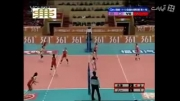 اتفاق جالب در والیبال زنان