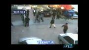 فیلم حمله اراذل و اوباش به بیمارستان فاطمی اردبیل