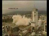 آتش سوزی گسترده در ساختمان مسکونی