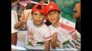 حمایت دوقلوها از تیم ملی فوتبال در بازی های  جام جهانی