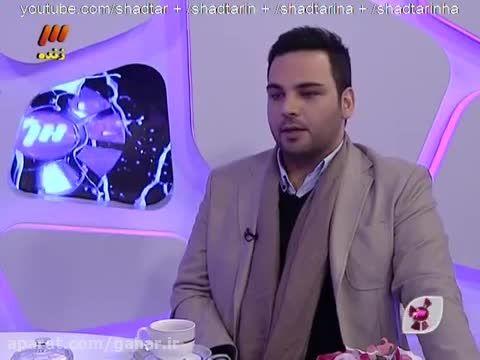 فیلم حضور احسان علیخانی در برنامه گلخانه شبکه سه آذر 94