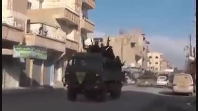 آزاد سازی کامل تل حمیص از داعش به دست YPG و پیشمرگه
