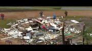 یک کشته و دهها مجروح در گردباد می سی سی پی