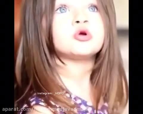زیباترین دختر بچه ترک
