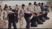 فیلم هالیوودی داعش برای تبلیغ سر بریدن سربازان سوری !