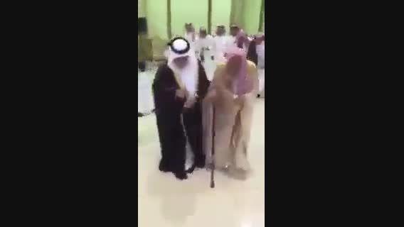 رقصیدن آل شیخ؛ مفتی اعظم عربستان سعودی در مجلس عمومی
