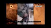 کلیپ اسارت یکی از تروریست ها توسط نوجوان حزب الله