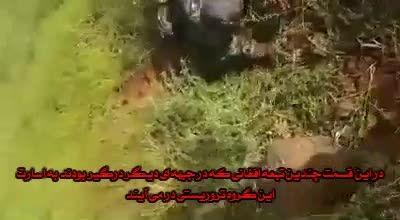به اسارت در آمدن مدافعان حرم در درعا منطقه بصرالحریر
