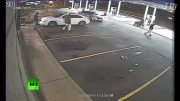 لحظه شلیک پلیس امریکا به جوان سیاه پوست