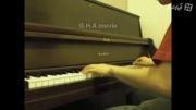 نواختن آهنگ ملایم با پیانو