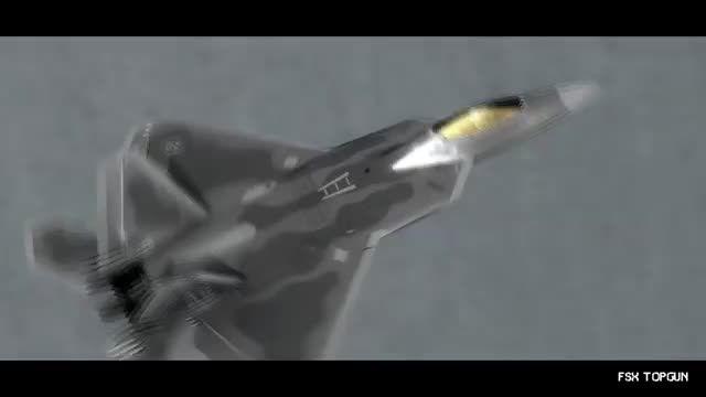 حیرت انگیز ترین تصاویر از جنگنده F-22   شبیه ساز الماس