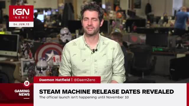 Steam machine release date in Sydney