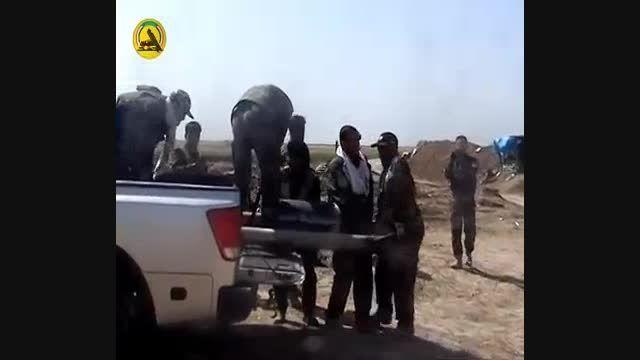 مردم داعش را  موشک باران کردند