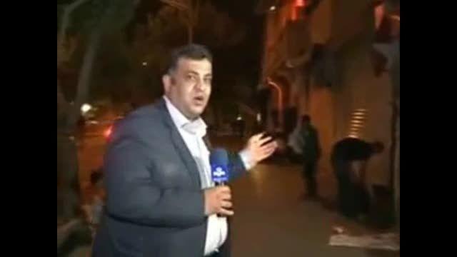وضعیت فاجعه بار بازار تهران در شب!