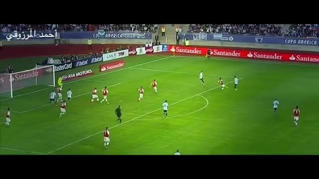 حرکات مسی مقابل پاراگوئه