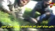 کشتار تروریست ها توسط تک تیرانداز ارتش سوریه