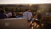 تماشای سقوط بمب برسر مردم فلسطین توسط مردم اسرائیل