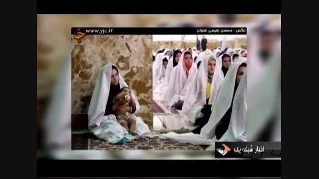 تصاویر از ازدواج جوانان در حرم مطهر امام رضا (ع)