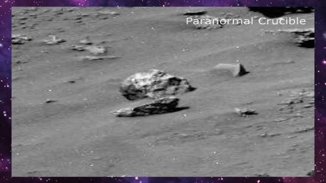 کشف جمجمه غولپیکر انسان گونه در مریخ