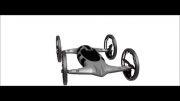 ترکیب کوادروکوپتر و ماشین کنترلی (ماشین پرنده)